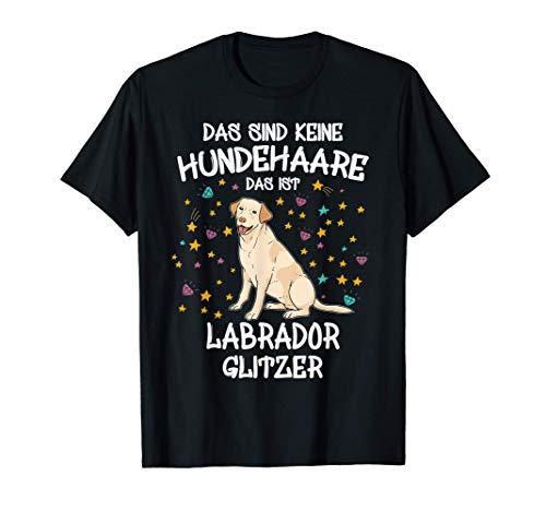 Labrador Glitzer Labbi Hundehalter Geschenk Gassi Hunde T-Shirt