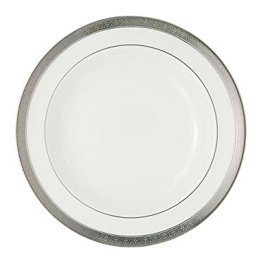 Waterford China New Grange Platinum 9-inch Rim Soup