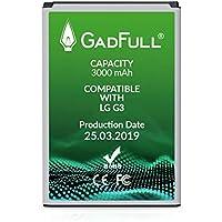 GadFull Batería de reemplazo para LG G3 | 2019 Fecha de producción | Corresponde al Original BL-53YH | Compatible con LG G3 D830 | D851 | LS990 batería de Repuesto