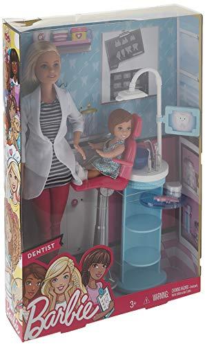 Barbie Carrière Dentiste Ensemble Poupée - 1