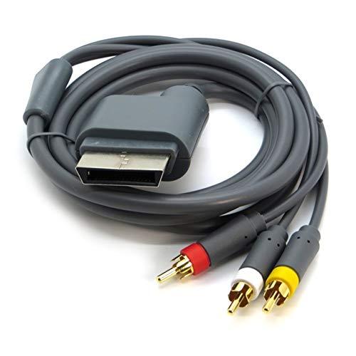 WICAREYO Cable de audio y vídeo AV Cordón de cable óptico compatible...