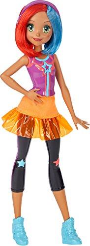 Barbie Mattel DTW05 - Die Videospiel-Heldin Freundin Puppe mit Buntem Haar, Ankleidepuppen-Zubehör