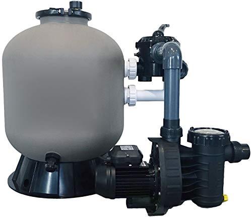 Well Solutions® Schwimmbad Sandfilter Kessel 500 Speck Pumpe 9 Komplett Set