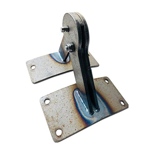 Unknown BBQ Steel Lid Hinge for Weber Smokey Mountain WSM 18.5 or 22.5 - Paintable Steel