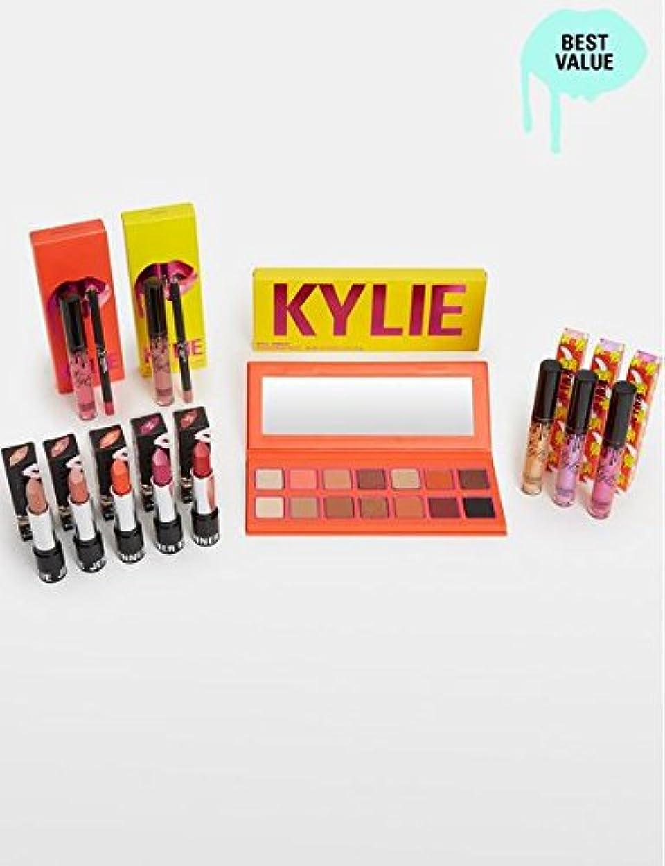 ドロップ解釈する窓を洗うKylie Cosmetics カイリーコスメティックス The Summer Collection Bundle サマコレ