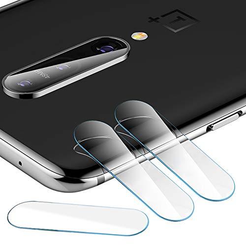 qichenlu [6D Willow Glas] 3 Stück Kamera Folie für OnePlus 7T Pro, Linse Kamera Schutzglas für OnePlus 7T Pro,Ultra-Klar Blasenfrei Kratzfest Rückseite Kamera Schutz Folie für OnePlus 7T Pro