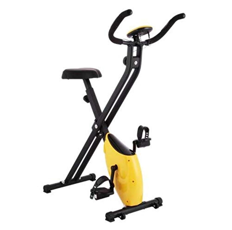 敬なワーディアンケース荒らすCetengkeji スポーツステッパー持ち運びが簡単黄色多機能ミュートステッパー細いウエストストーブパイプ運動フィットネス機器付きディスプレイ