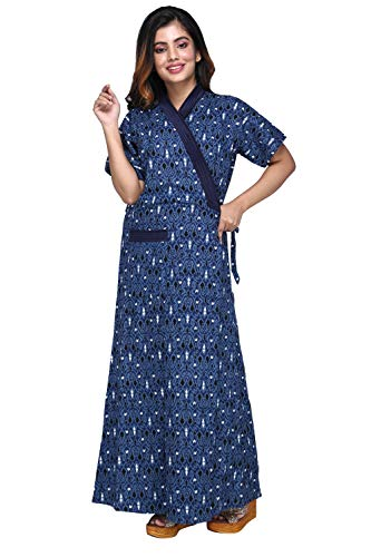 Baby Doll Hydes ® Women's Pure Cotton Robe, Housecoat, Nighty,...