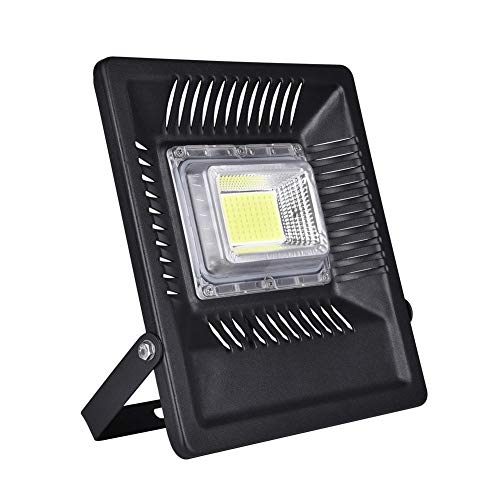 Lancei Ancyes 100W LED Flood Light Outdoor, 8500lm Daylight White 6500K, Equivalent,...