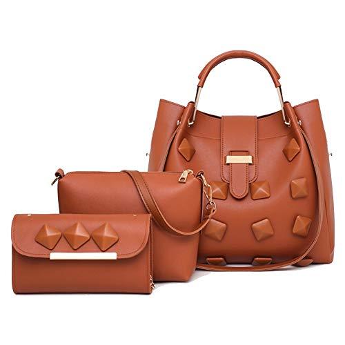 Chezhan -2019 Sommer Wilde Mode Handtasche Schön (Color : Brown, Size : 34 * 13 * 31cm)