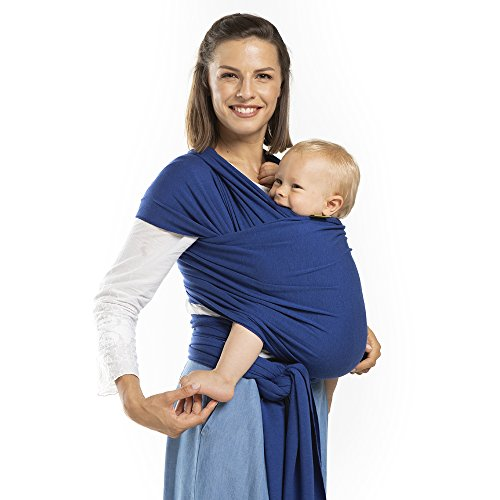 Boba Wrap Baby Carrier, Dark Blue Serenity - Original