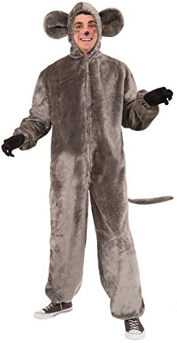 Forum Novelties mens Mouse Mascot Adult Sized Costumes, Gray, Standard US
