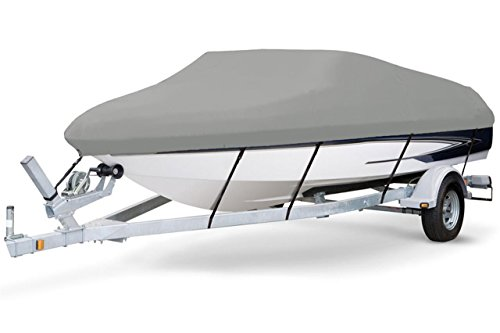 Great Deal! 7 oz Solution Dyed Polyester Grey, Styled to FIT Boat Cover for INTEC Island Princess 28...