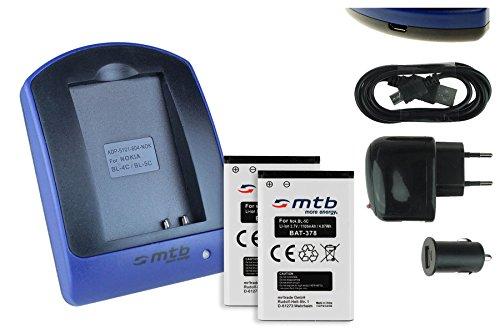 2 Akkus + Ladegerät (Netz+Kfz+USB) für Contour+2, Contour+, ContourHD 1080P. / Toshiba Camileo. / Aiptek PocketDV. - s. Liste
