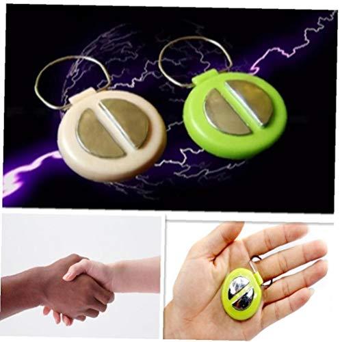 AMOYER Elektroschock-Gag Spielzeug Shocking Handshake-Trick-Witz Spielzeug Neuheit-Geschenk (zufällige Farbe)