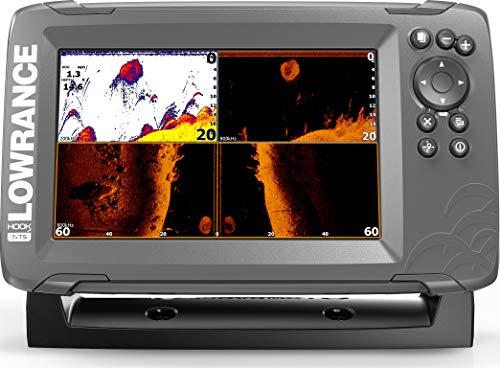 "Lowrance Hook2 - GPS para localizar Peces (7""), Color Negro"