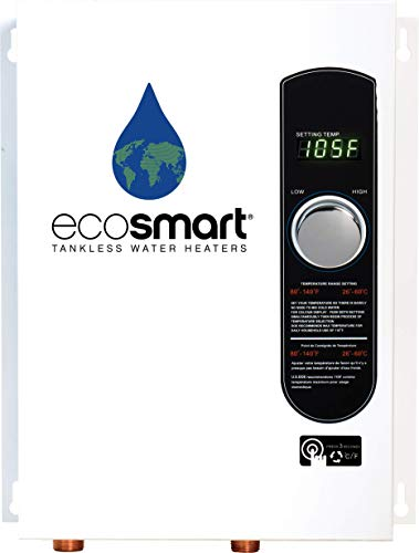 Ecosmart ECO 18 Electric Tankless Water Heater, 18 KW at 240...
