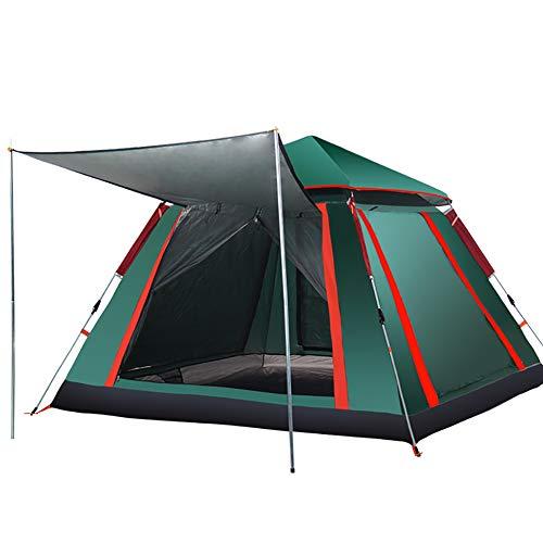 XIAMIMI Zelt im Freien Vollautomatisches Familien-Camping mit einem Schlafzimmer und einem Schlafzimmer