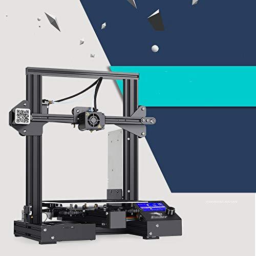 SMGPYDZYP Imprimante 3D, Facile à Utiliser avec ender-3S ender-3S Ender-3S 3 D Haute Précision Industrielle 3D Printe