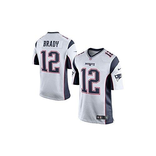 Nike Tom Brady New England Patriots White Men's Game Day Jersey XX-Large