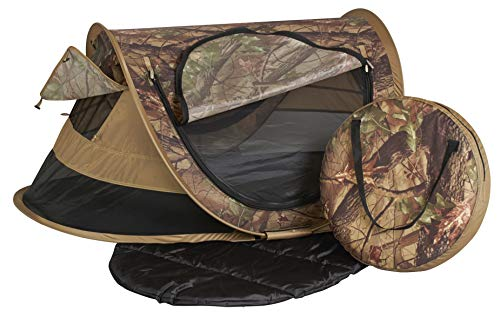 Fantastic Prices! KidCo P4013 Peapod Plus Portable Indoor Outdoor Travel Bed Camo