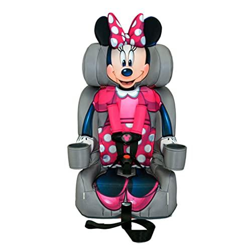 KidsEmbrace 2-in-1 Harness Booster Car Seat, Disney Minnie...