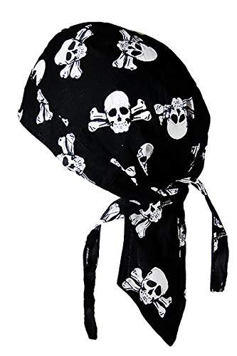 memego Bandana Cap Kopftuch Skull Bones