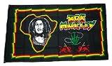 Flagge / Fahne Bob Marley Hanf 90 x 150 cm
