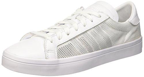 adidas Court Vantage, Zapatillas de Baloncesto Hombre, Blanco, EU 46 (UK 11)