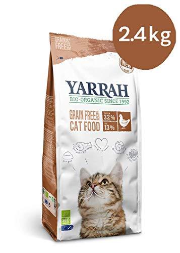 Yarrah cat adult graanvrij kip/vis kattenvoer 2,4 KG