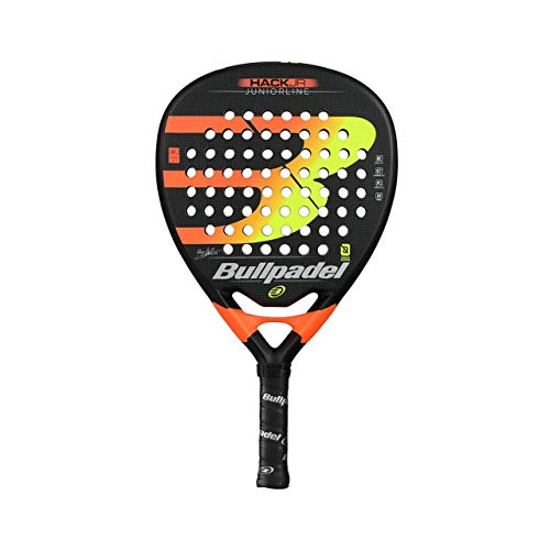 Bullpadel Hack Jr 2019 Pelles, Adultes, Unisexe, Noir, 380