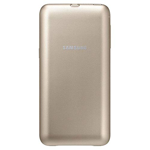Samsung Custodia Wireless Charger Pack 3400 mAh Galaxy S6 Edge Plus, Color Gold