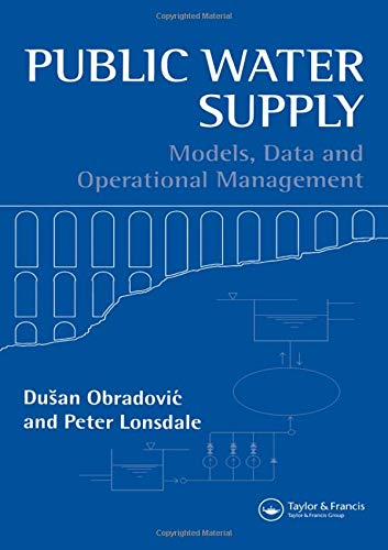 Public Water Supply: Models, Data and Operational Management