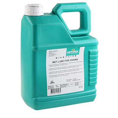Motorex Wet Lube Öl Nass Kettenschmiermittel 5 L Schmierstoff wasserabweisend, 513846