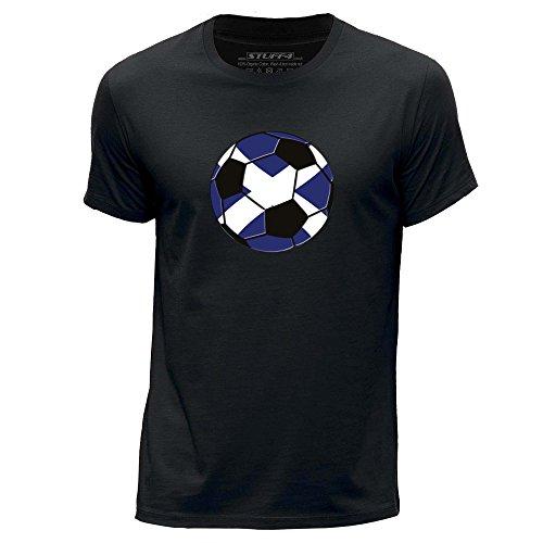 Stuff4 Heren T-Shirt/Schotland/Schots Voetbal/Ronde hals Casual Korte mouw 100% Organisch Katoen