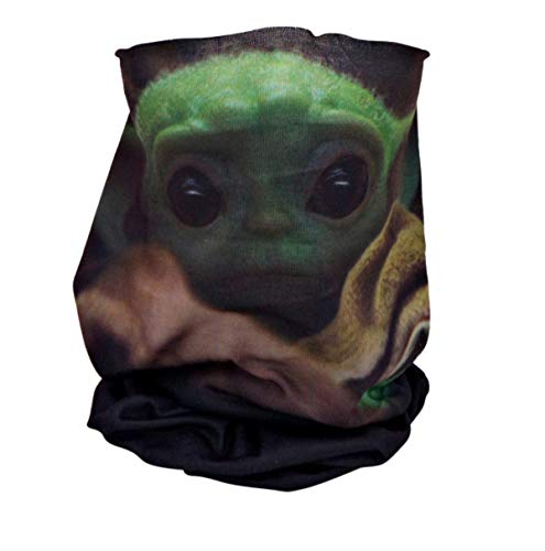 Disney Star Wars The Child Neck Gaiter Scarf Washable Reusable Face Cover
