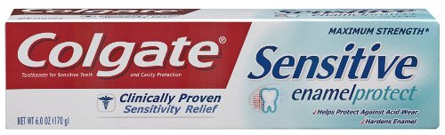 Colgate Sensitive Enamel Protect Toothpaste, 6.0-Ounce...