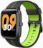Blackview Reloj Inteligente con GPS,smartwatch Hombre Mujer niños con Pulsómetro,Pulsera de Actividad,Monitores de Actividad, Pulsera Inteligente para Android e iOS (42mm)