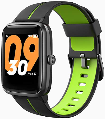 Blackview Smartwatch con GPS, Relojes Inteligentes Hombre - Esfera de Reloj Personalizable, Reloj Deportivo Hombre Pulsómetro, Pulsera Actividad Inteligente, Reloj Inteligente Mujer para Android e iOS