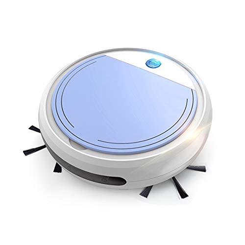 SNAWEN Aspirateur Robot, Chargement USB Robot Aspirateur 4-en-1 Smart Balayage Robot Sec Et Humide Mop Puissante Aspiration Robot Nettoyeur,3