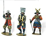 Triciclo Editores SL Juego de 3 Soldados De Plomo Samurai 1:31 - SAM103