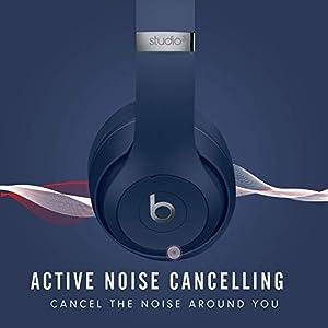 Beats Studio3 Wireless Over‑Ear Headphones - Blue (Latest Model)