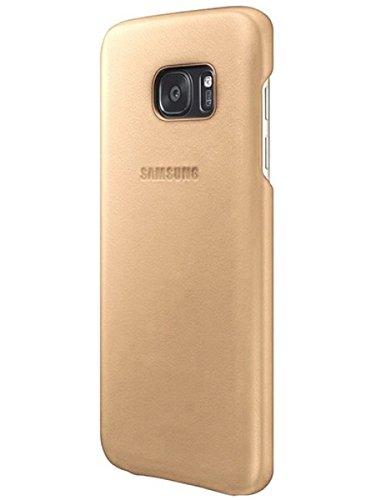 Samsung Leder Cover EF-VG935LUEGWW für Galaxy S7 Edge, Beige