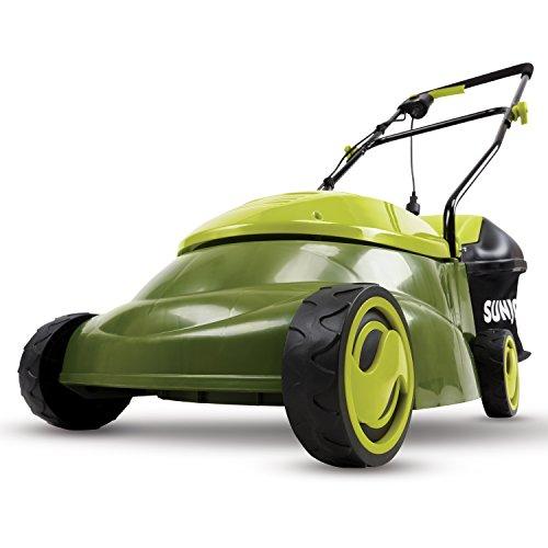Sun Joe MJ401E-RM Mow Joe 14-Inch 12 Amp Electric Lawn Mower With Grass Bag (Renewed)