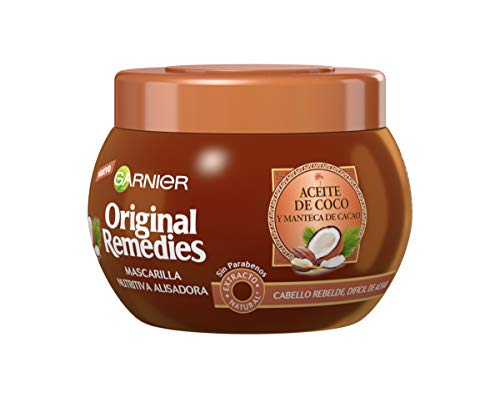 Garnier Original Remedies Aceite de coco y Manteca de Cacao Mascarilla de...