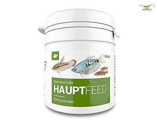 NatureHolic Hauptfeed - Zierfischhauptfutter – Futter für Fische im Aquarium - Softgranulat – 50 ml