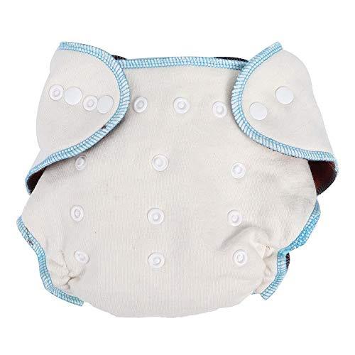 Urinisolatie onderbroek ademende verstelbare babyluierhoes zachte herbruikbare babyluierdoek wasbaar lekvrij ondergoed voor 3-15 kg baby