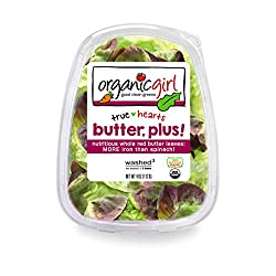 Organic Salad Clam Butter Plus, 4 Ounce