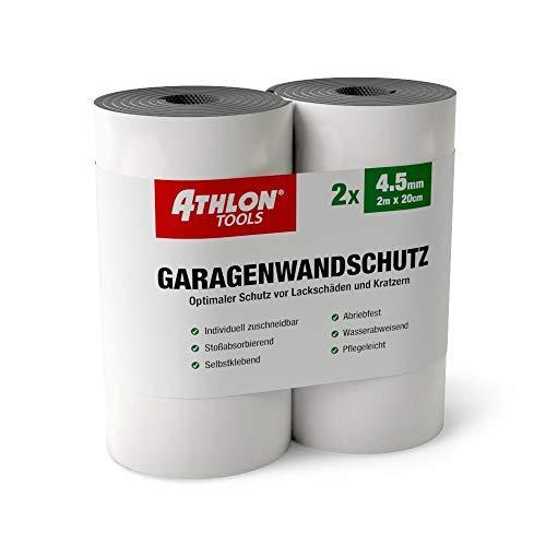 ATHLON TOOLS Premium Garagenwandschutz | je 2 m lang | Auto Türkantenschoner Türkantenschutz