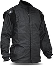 K1 Race Gear Racing Kart Jacket (Black, Large/X-Large)